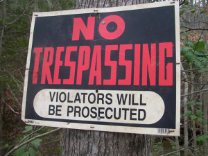 Trespassing charges nj