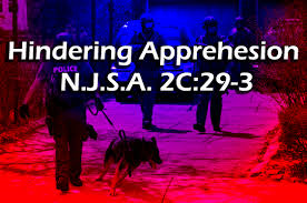 NJ hindering apprehension or prosecution charges 2C:29-3