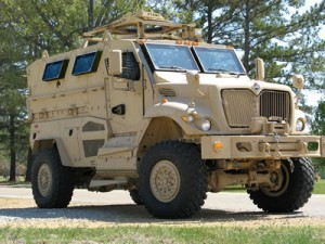mrap vehicle