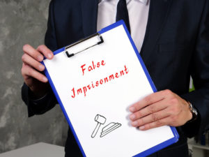False Imprisonment Lawyers in NJ